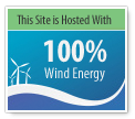 POWWEB certifies drivegreenwithsjev.com is powered by 100% wind energy